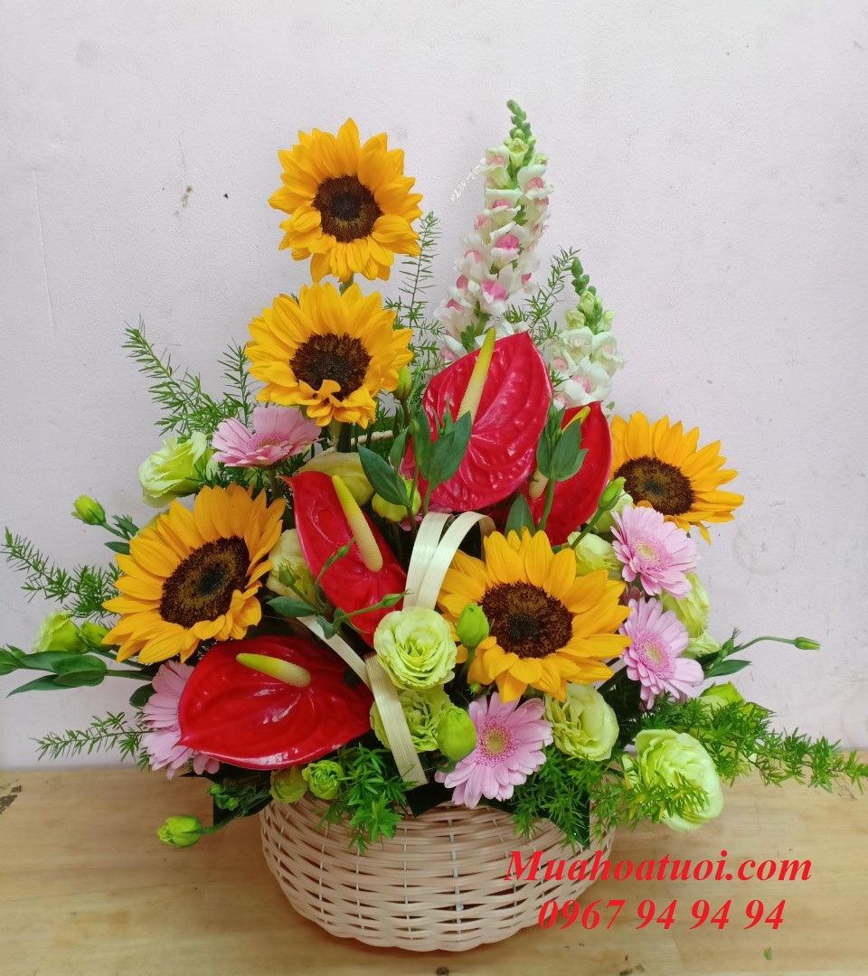 Cửa hàng hoa tươi Bình Thủy