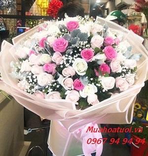 tiệm hoa tân biên