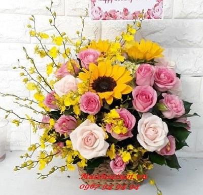Cửa hàng hoa tươi bình định