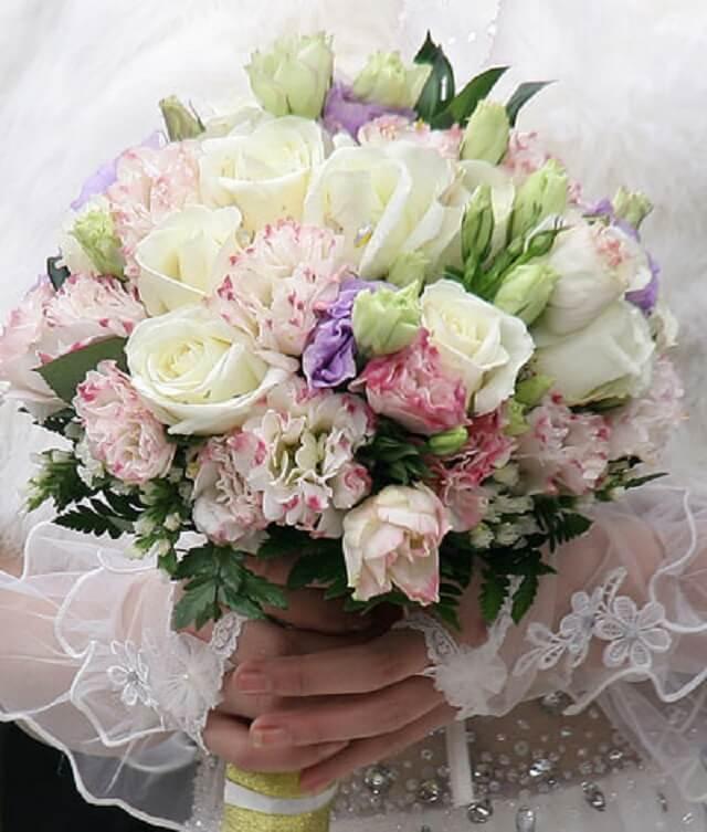 hoa cát tường được sử dụng trong lễ cưới