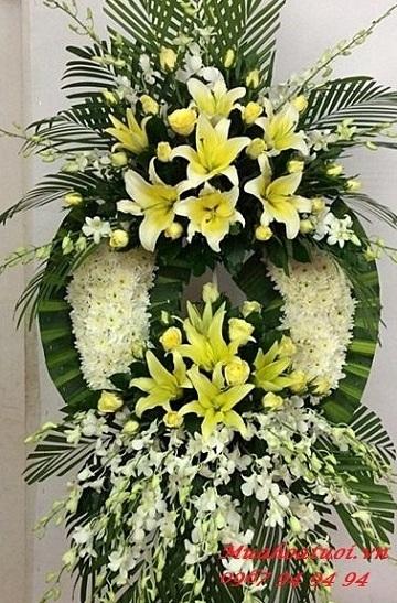 hoa chia buồn tại shop hoa tươi Sóc Trăng