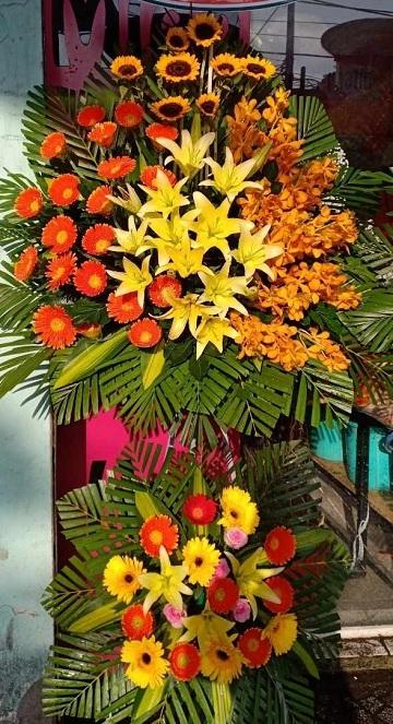 hoa khai trương tại shop hoa tươi Bà Rịa
