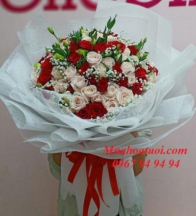 Hoa tình yêu tại shop hoa tươi Hà Nội